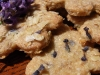 45 Lavender and Oat Biscuits close-up